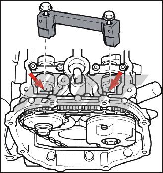 JTC4086 VW, AUDI TIMING TOOL SET (V6, 3 2FSI) [JTC-4086