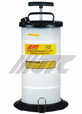 JTC-1020 HAND OPERATED FLUID EXTRACTOR (10L)