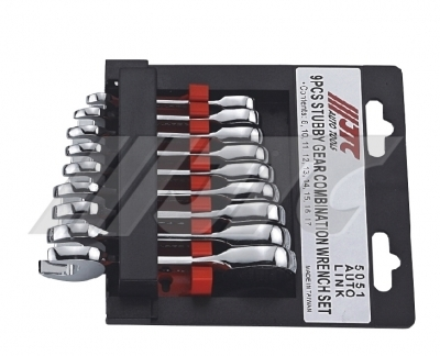 JTC-5050 STUBBY GEAR COMBINATION WRENCH SET