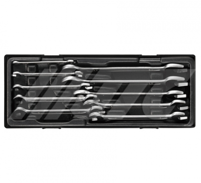 JTC-GD06S 6PC DOUBLE OPEN END WRENCH SET- EUROPE TYPE