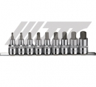 "JTC-H409H 1/2""×9PCS HEX SOCKET BIT SET"